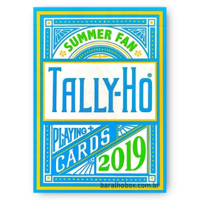 Baralho Tally-Ho Summer 2019 - Fan Back