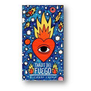 Baralho Tarot Del Fuego By Ricardo Cavolo