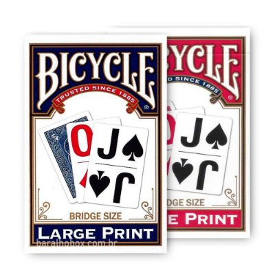 Baralho Bicycle Large Print