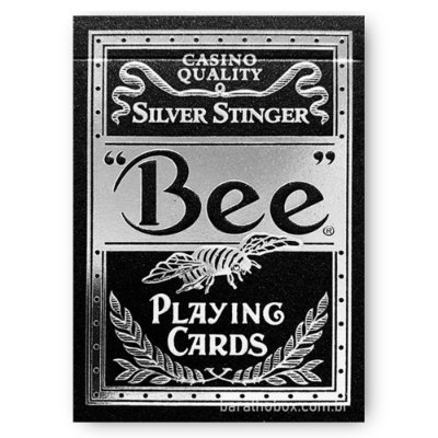 Baralho Bee Silver Stinger