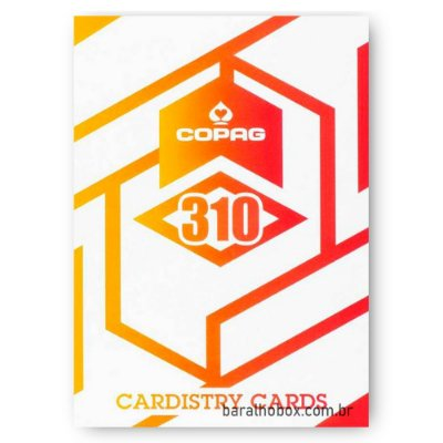 Baralho Copag 310 Alpha Orange