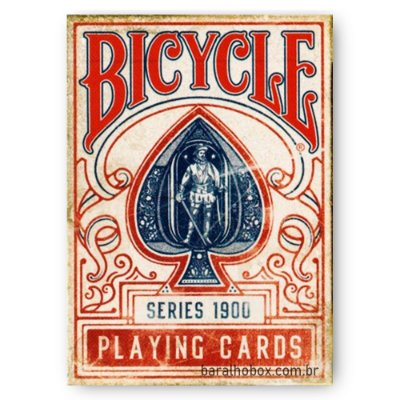 Baralho Bicycle 1900 Vermelho