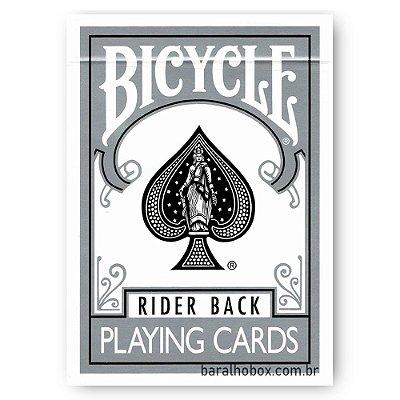 Baralho Bicycle Rider Back Silver