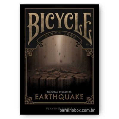 Baralho Bicycle Natural Disasters Earthquake