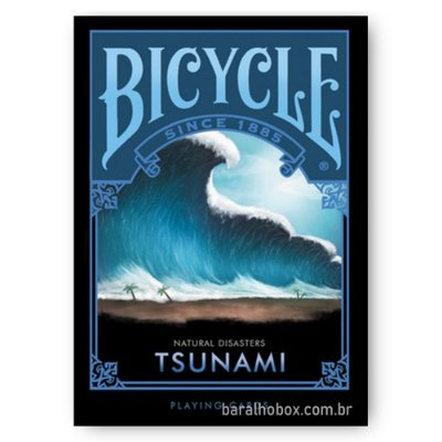Baralho Bicycle Natural Disasters Tsunami