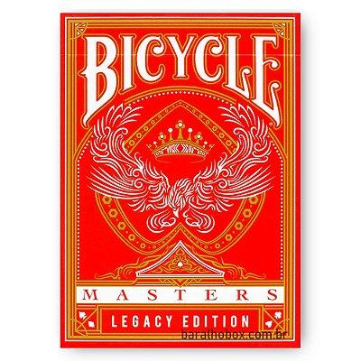 Baralho Bicycle Masters Vermelho - Legacy Edition