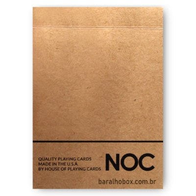 Baralho NOC on Wood Marrom