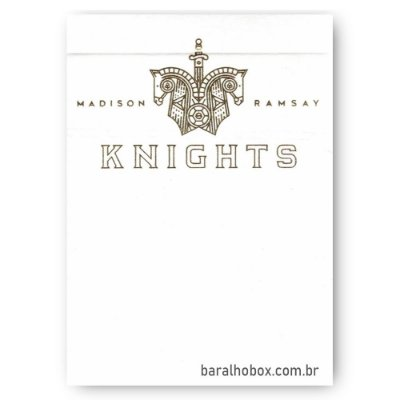 Baralho Knights V2 Branco