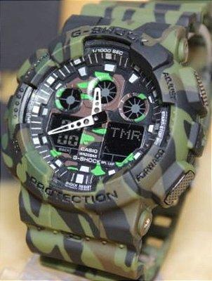 d9b5d6d76da Relógio Casio G-SHOCK Preto com fundo Vermelho