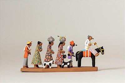 Miniatura Família de Retirantes