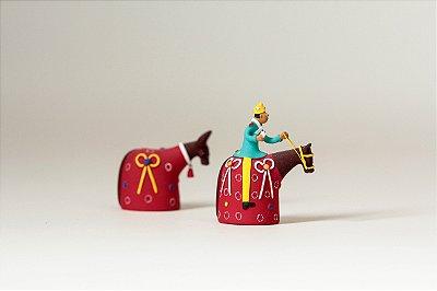 Miniatura Boi e Cavalo Marinho 2
