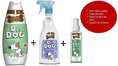 Kit para banho em casa Dr. Dog 3
