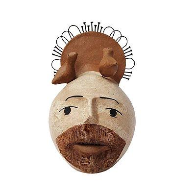 São Francisco em cerâmica Bola - LeArtes - PE