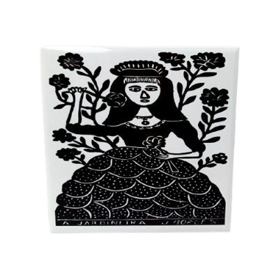 "Azulejo ""A Jardineira"" M - J. Borges - PE"