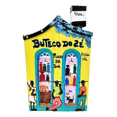 """Casinha de Parede """"Buteco do Zé"""" - Juliano - SP"""