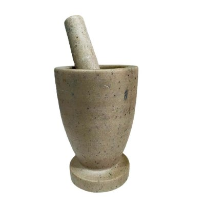 Pilão M Liso em Pedra Sabão - MG