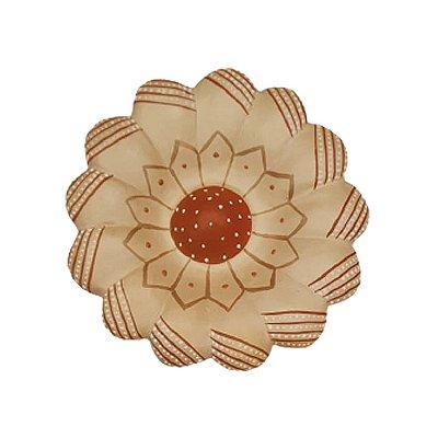 Flor de Parede Bege FATINHA - 11 Cm