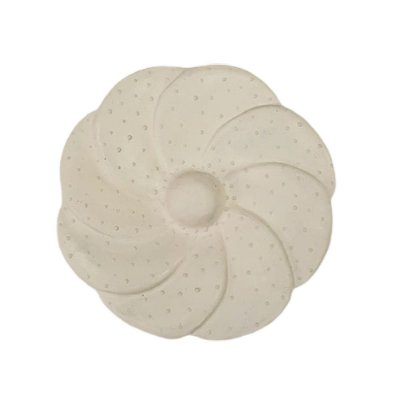 Flor de Parede Branca LUIZA - 15 Cm