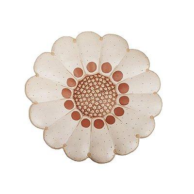 Flor de Parede Bege ROBERTA - 30 Cm