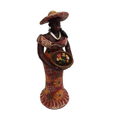 Mulher com Flores do Leonildo - PE