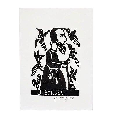 Xilogravura P - J. Borges - PE