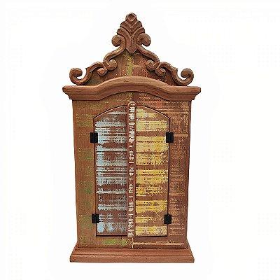 Oratório Madeira Liso - MG