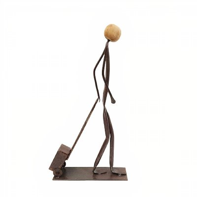 Escultura em Ferro Viajando - MG