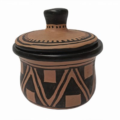 Pote em Cerâmica - Etnia Waurá - MT