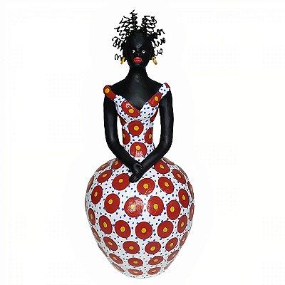 Boneca Negra do Ednaldo de Caruaru - PE