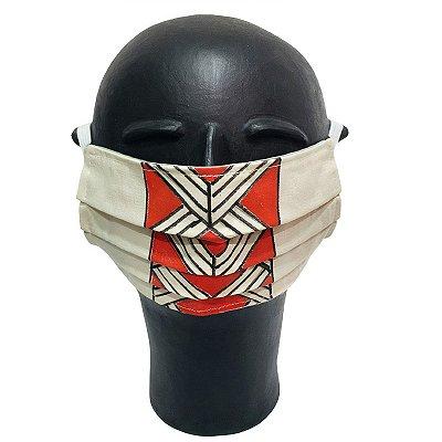 Máscara de Proteção Grafismo Indígena G - AM