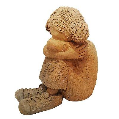 Escultura Criança P João Paulo Mota - MG