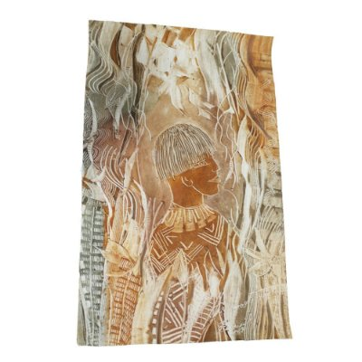 Gravura em Pintura Batik - SP