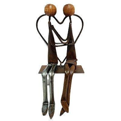 Escultura em Ferro Coração - MG