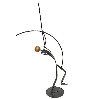 Escultura em Ferro Cupido - MG