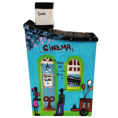 "Casinha de Parede ""Cinema"" - Juliano - SP"