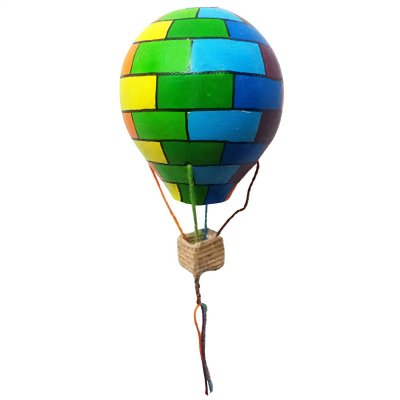 Balão Colorido em Cabaça P1 - SP
