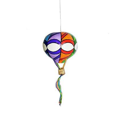 Balão Colorido em Cabaça PP - SP