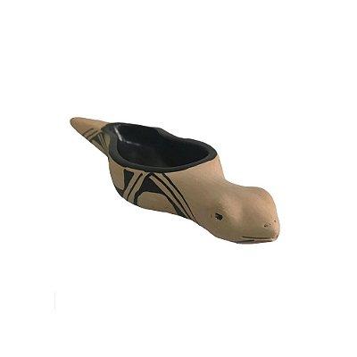 Cobra em Cerâmica  Waurá