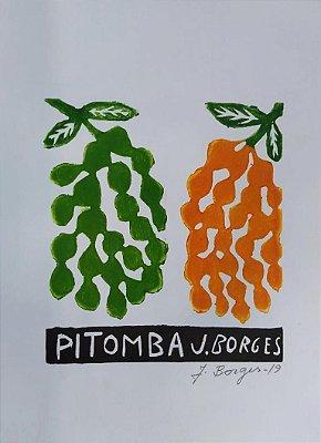 Xilogravura J. Borges Pitomba P- PE