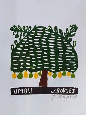 Xilogravura J. Borges Umbu P- PE