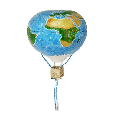 Balão de Cabaça Mapa Mundi M - SP
