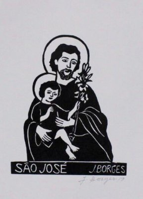 Xilogravura J. Borges São José P - PE