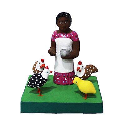 Mini Escultura Figureiras de Taubaté - SP