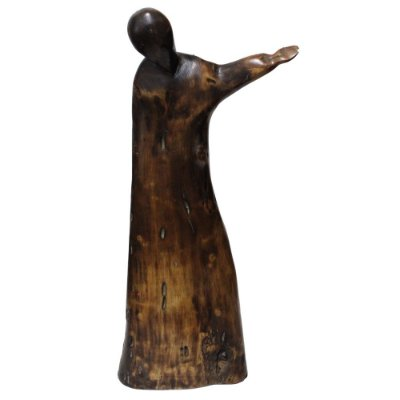 Escultura Madeira Cedro Neusso - ES