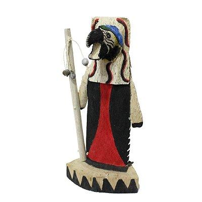 Escultura Curaca Tikuna - AM