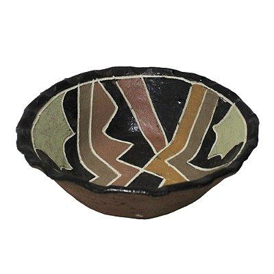 Vasilha em Cerâmica Kadiwéu M - MS