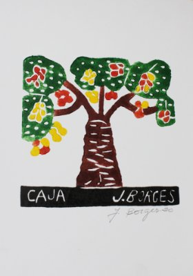 Xilogravura J. Borges Caja P - PE
