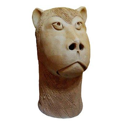 Carranca em cerâmica M- Ana das carrancas - PE