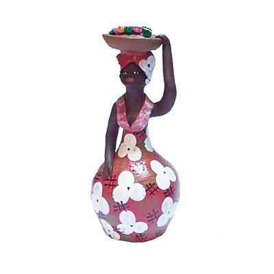 Boneca com flores do Leonildo- PE