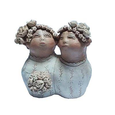 Casal Noivas  em Cerâmica nenê Cavalcante - PB